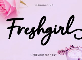 FreshGirl Font