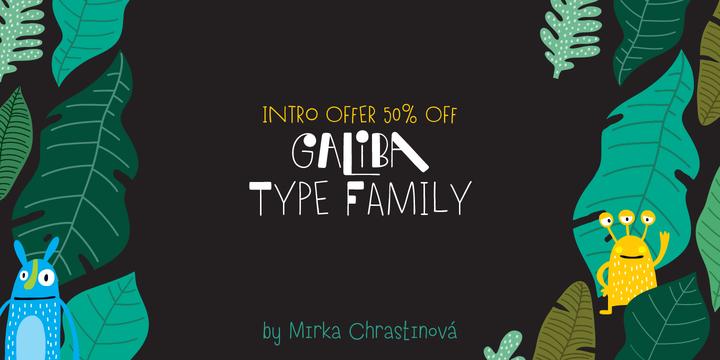 Galiba Font Family