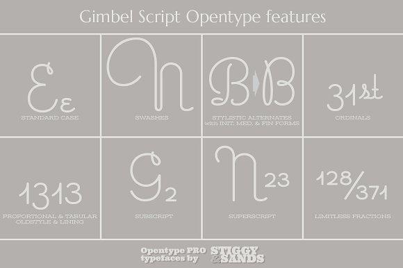 Gimbel Script Font