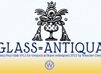 Glass Light Font