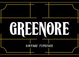 Greenore Font