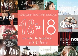 Handcrafted Fonts