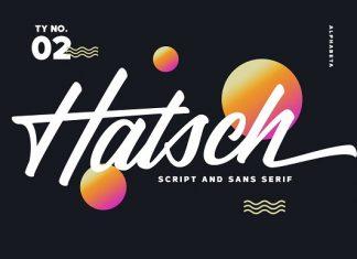 Hatsch Font Family