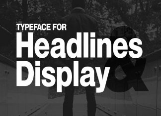 HEXA - Modern Display Typeface