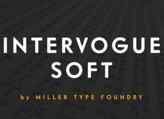 Intervogue Soft Font Sans Serif