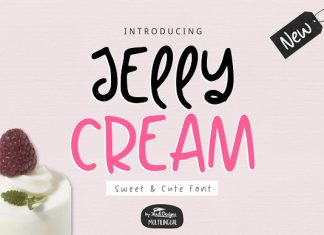 Jelly Cream Font