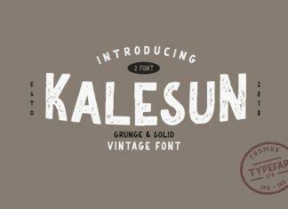 Kalesun - 2 Fonts