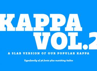 Kappa Vol. 2 Font