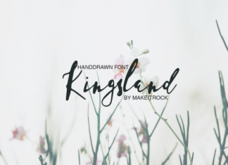 Kingsland Font