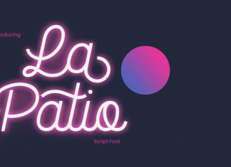 La Patio Font Script