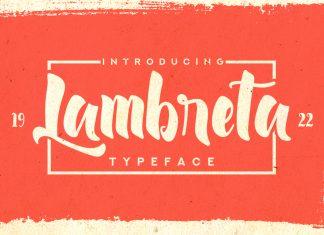 Lambreta Typeface Script