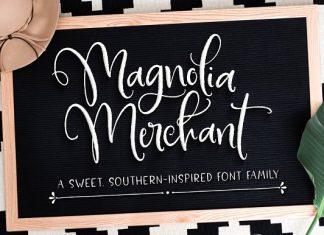 Magnolia Merchant Font Family