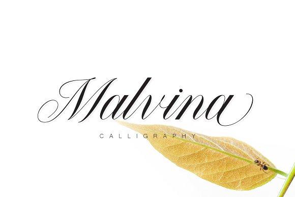 Malvina Script Font
