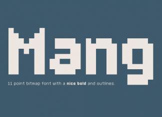Mang Font Family