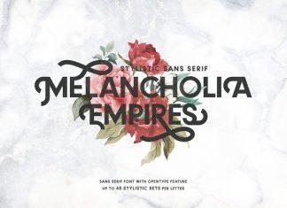 Melancholia - Stylistic Sans Serif