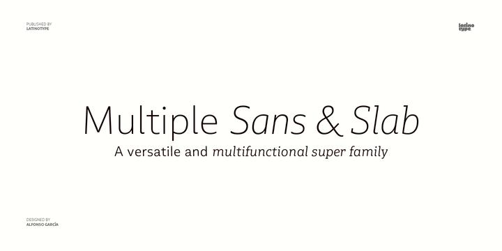 Multiple Sans & Slab Family