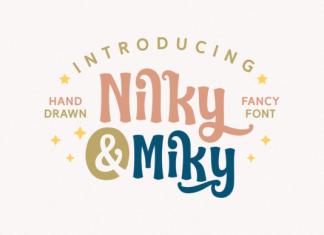 Nilky & Miky Font