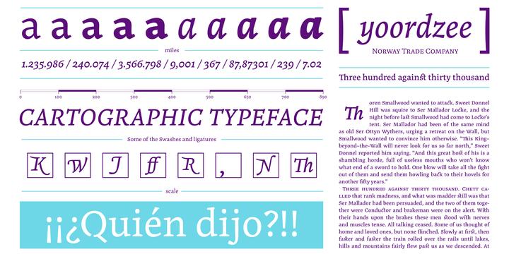 Noort Font Serif