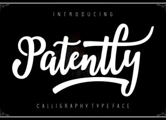 Patently Script Font