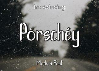 Porschey Font