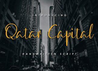 Qatar Capital tScripFont