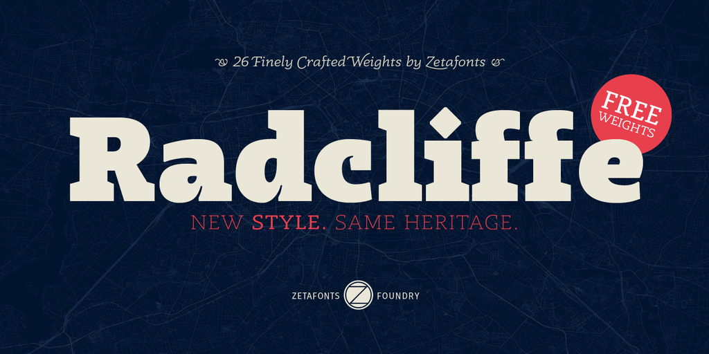 Radcliffe Font Family