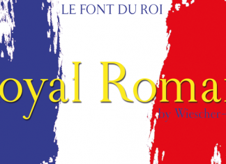 Royal Romain Font