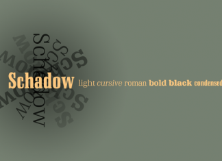 Schadow Font Family
