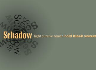 Schadow Font Family