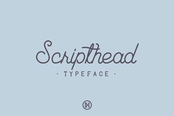 Scripthead Typeface