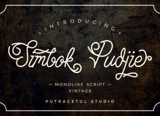 Simbok Pudjie Script Font Family
