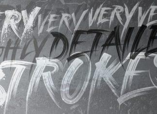 Strokes Font Script
