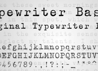 Typewriter BasiX Font
