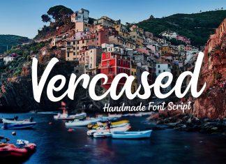 Vercased - Handmade FontScript Font