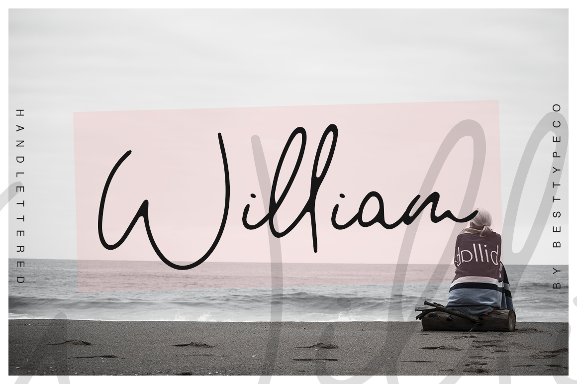 William Script Font