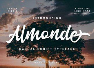 Almonde Script Font