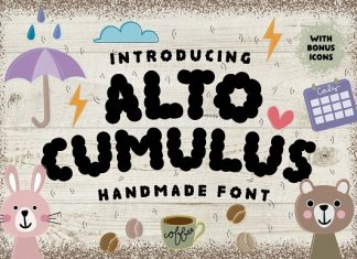 Altocumulus Font
