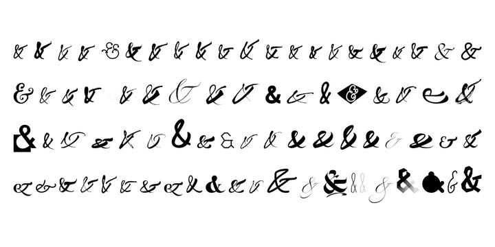 Ampersanders Font