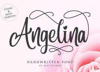 Angelina Script- Beautiful Handwritt Font