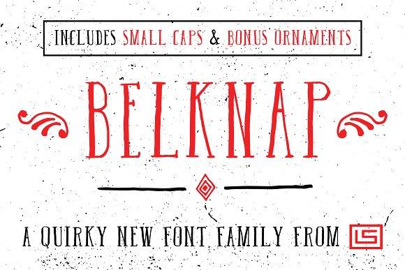 Belknap Font Script