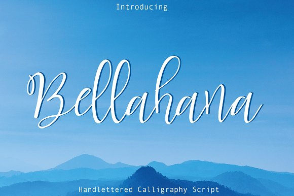 Bellahana Script Font