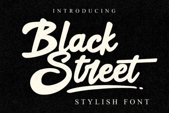 Black Street Font