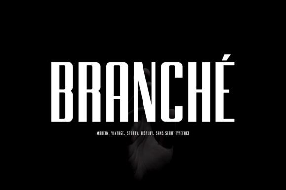 Branche Font Sans Serif