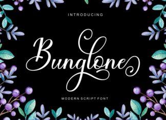Bunglone Font