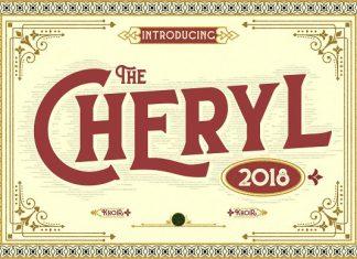 CHERYL Font