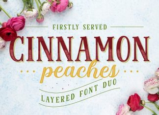 Cinnamon Peaches Script Font