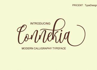 Connekia Script Font