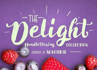 Delight Font Pack & Extra