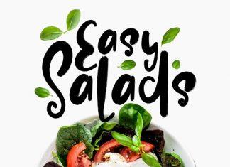 Easy Salads Font