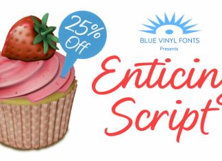 Enticing Script Font